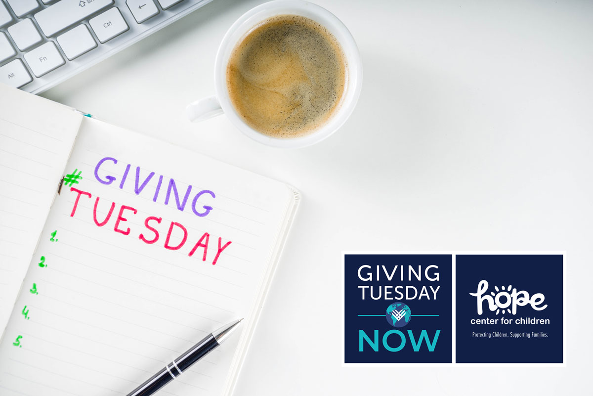 Join us for Giving Tuesday Now
